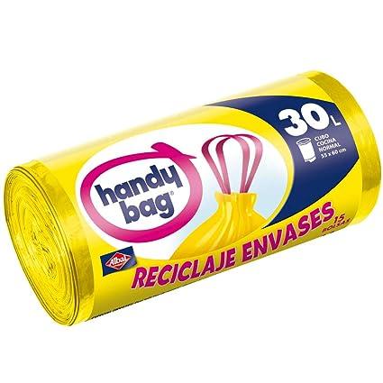 Handy Bag Bolsas de Basura para Reciclaje de Envases, 30 ...
