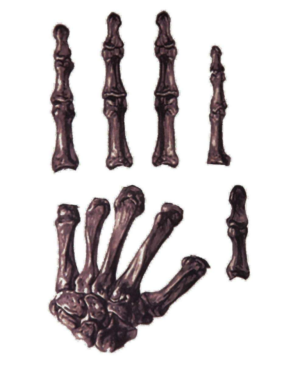 Esqueleto de la mano del tatuaje: Amazon.es: Juguetes y juegos