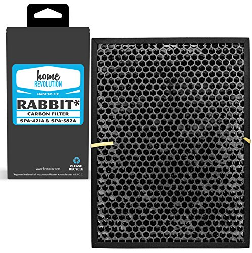 Home Revolution Replacement Carbon Filter, Fits BioGS and BioGP SPA-421A and SPA-582A and Parts BioGS Carbon Filter by Home Revolution