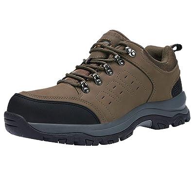 meilleur service 3b485 d5340 CAMEL CROWN Chaussure de Randonnée Basses Homme Imperméables Chaussure de  Montagne Hiver Bottes de Randonnée Baskets Trekking Chaussures de Marche