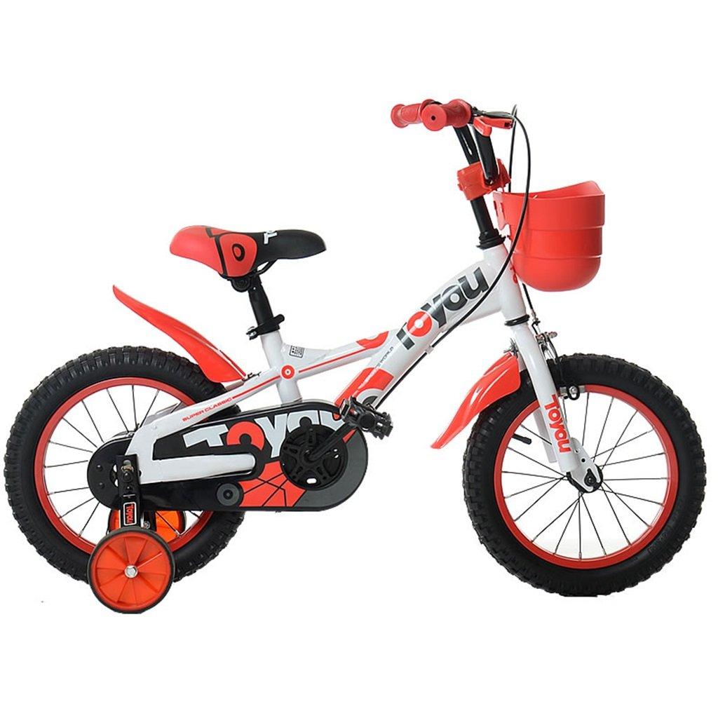 KANGR-子ども用自転車 子供用自転車適切な2-3-6-8男の子と女の子子供用玩具屋外用マウンテンバイクのハンドルバーとサドルの高さは安全トレーニングホイールで調節可能アルミスポークハブ-12 / 14/16/18インチ ( 色 : D , サイズ さいず : 12 inch ) B07BTWPDB8 12 inch|D D 12 inch
