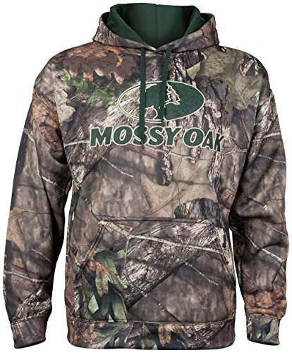 Mossy Oak Hunting Clothes - Mossy Oak Men's Break-Up Country Camo Pullover Performance Hoodie, Xx-Large