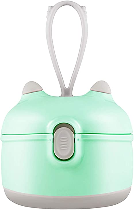 Portable Milk Powder Dispenser Container with Scoop for Travel Bedroom Outdoor YYWJ Baby Formula Dispenser