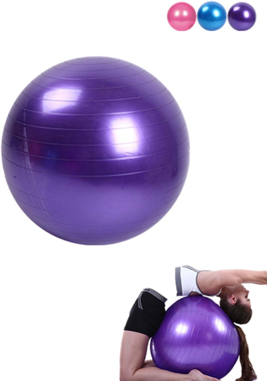 Lunji - Pelota de ejercicio (45 cm) para fitness, antiquemaduras ...