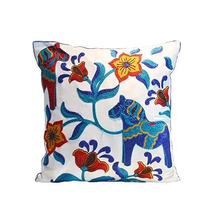 Amazon Memorecool Nepal Embroidery Pattern Pillow Shamhandmade