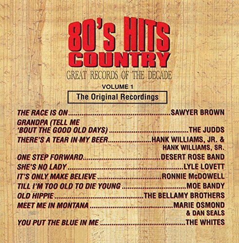 80's Hits: Country - Great Records Of The Decade - Country Classic Metal