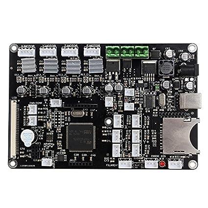 Impresora 3d placa base Junta de Control Electrónico Pantalla ...