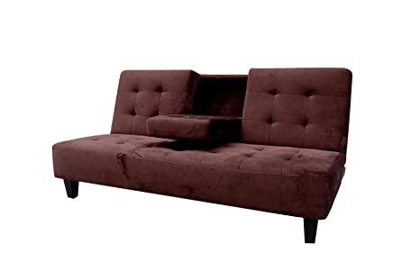 Amazon.com: Milton Greens Stars Madrid Futon Sofa Bed with ...