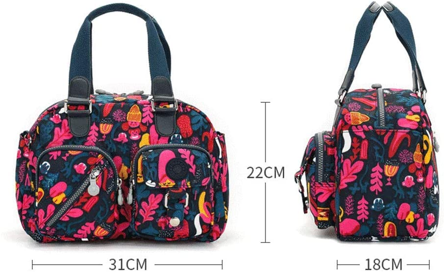 SLH Handbag Female Big Bag Leisure Handbag Messenger Bag Female Waterproof Shoulder Bag Multi-Layer