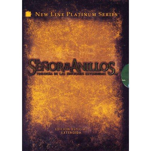 El Señor De Los Anillos (Trilogia Versiones Extendidas) (Region 1/ 4 DVD) (English and Portuguese Audio / English, Spanish and Portuguese Subtitles) (Trilogia El Anillos)