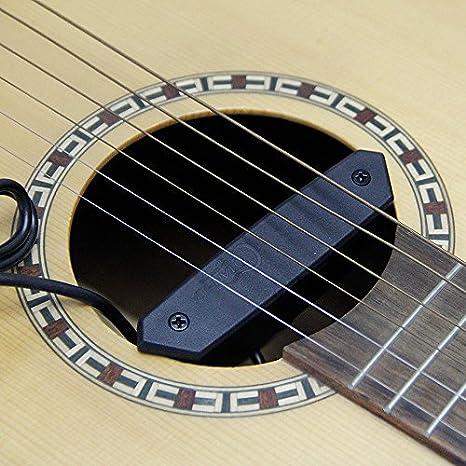 skysonic T-902 Piezo pastilla Humbucker para guitarra eléctrica pastilla equipado con micrófono para recoger el toque de la guitarra: Amazon.es: ...