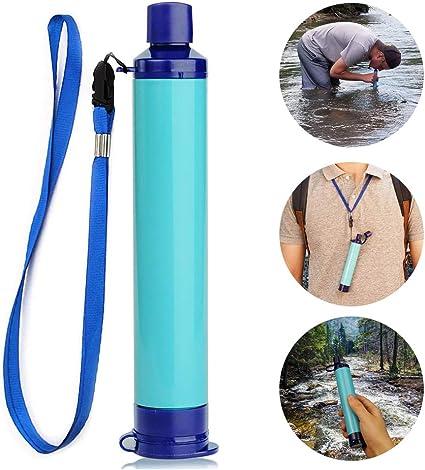 XCHUNA Filtro de Agua Personal, Equipo de Supervivencia de Agua ...