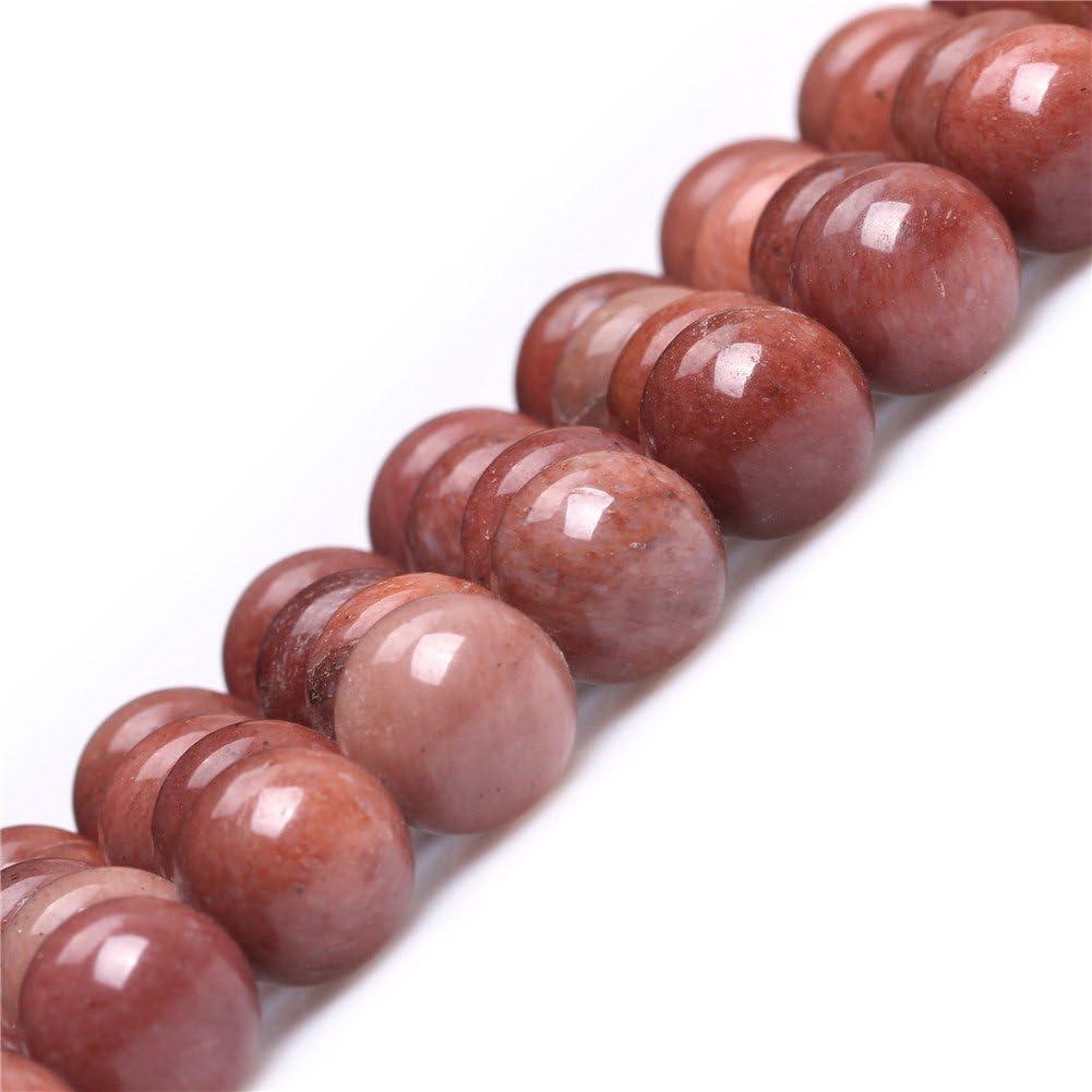 10mm 10mm Dark Red Sweet /& Happy Girls Gemstone Beads Strand Naturel Rond 6/mm Rouge fonc/é Africain Sang Jasper Pierre pr/écieuse de Pierre Semi-pr/écieuses Perles pour Fabrication de Bijoux 38,1/cm