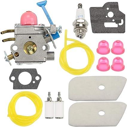 545081848 Carburetor For Husqvarna 124L 128C 128CD 128L 128LD 128R Zama C1Q-W40A
