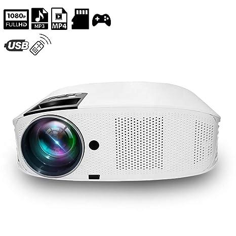 XH Proyector 1080P Multimedia Picture Video Pantalla de Proyección ...