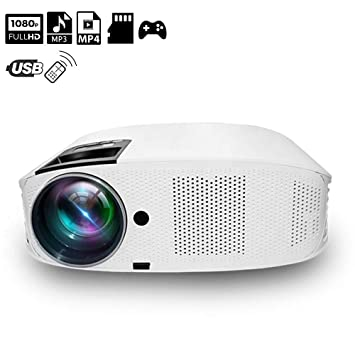 XH Proyector 1080P Multimedia Picture Video Pantalla de ...