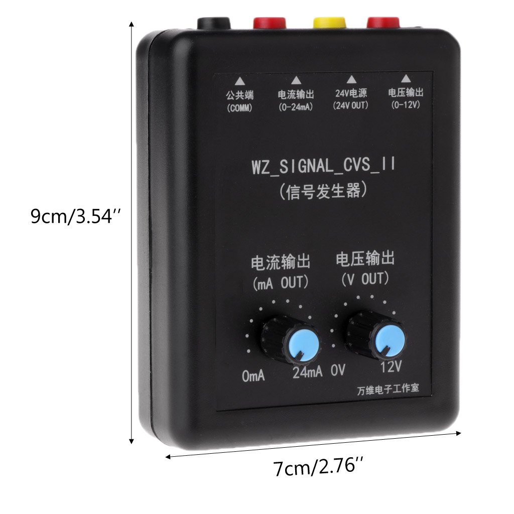 zijianZJJ Generador de se/ñal 4-20 MA, 0-10 V, 24 V