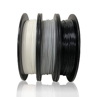 Dikale PLA - Filamento de impresora 3D (3 colores diferentes, 500 ...