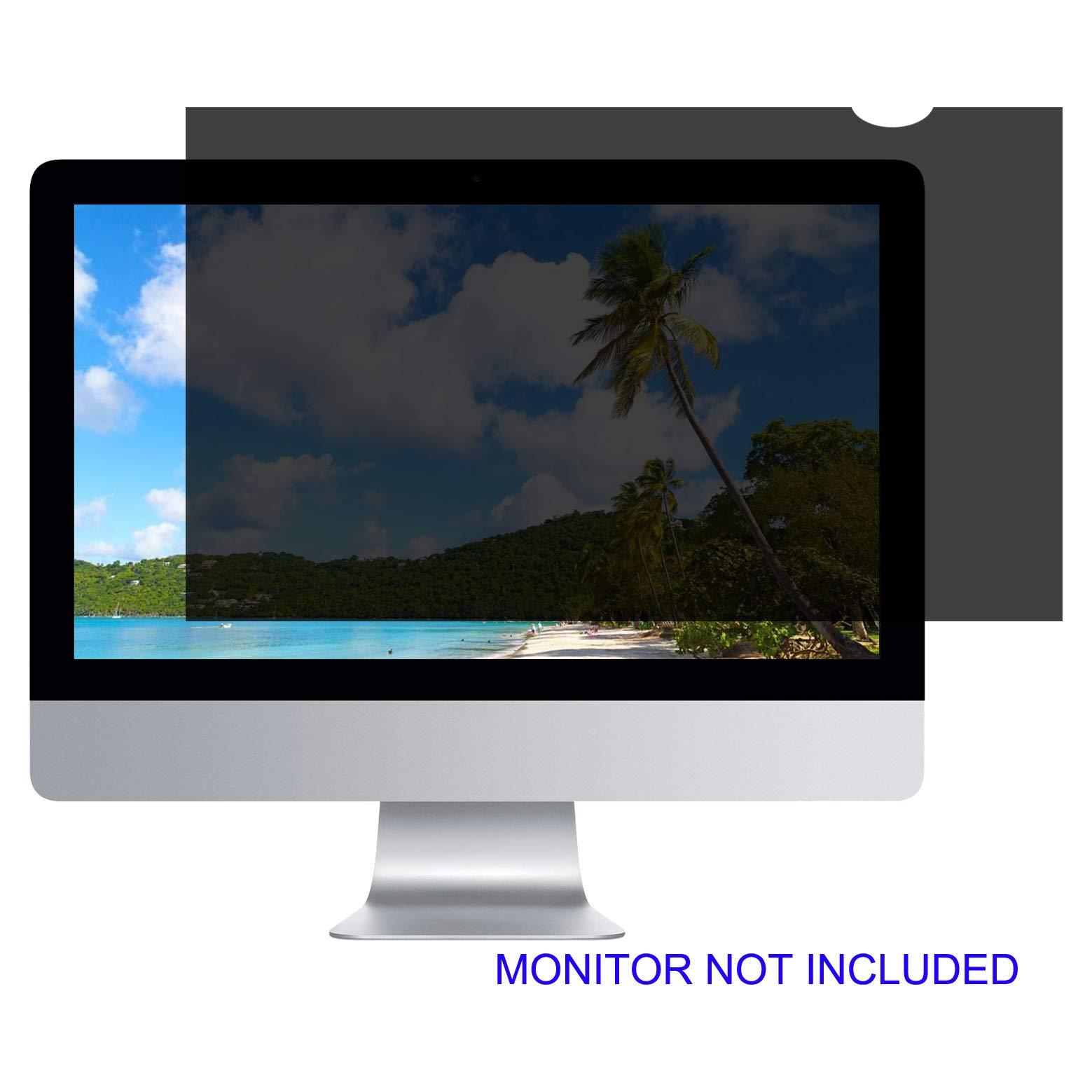 27''W Privacy Screen Filter for Desktop Computer Monitor - Anti-Glare, Blocks 96% UV,Anti-Scratch – Matte or Gloss Finish Privacy Filter Protector - 16:9 (TM27.0W9)