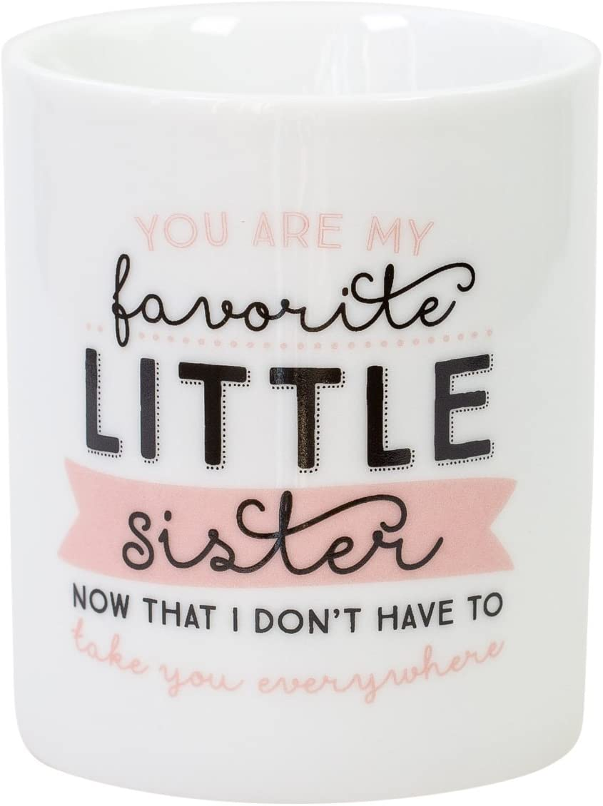 Mr. Wonderful Taza You Are my Favorite Little Sister, Blanco, 10x10x10: Amazon.es: Hogar