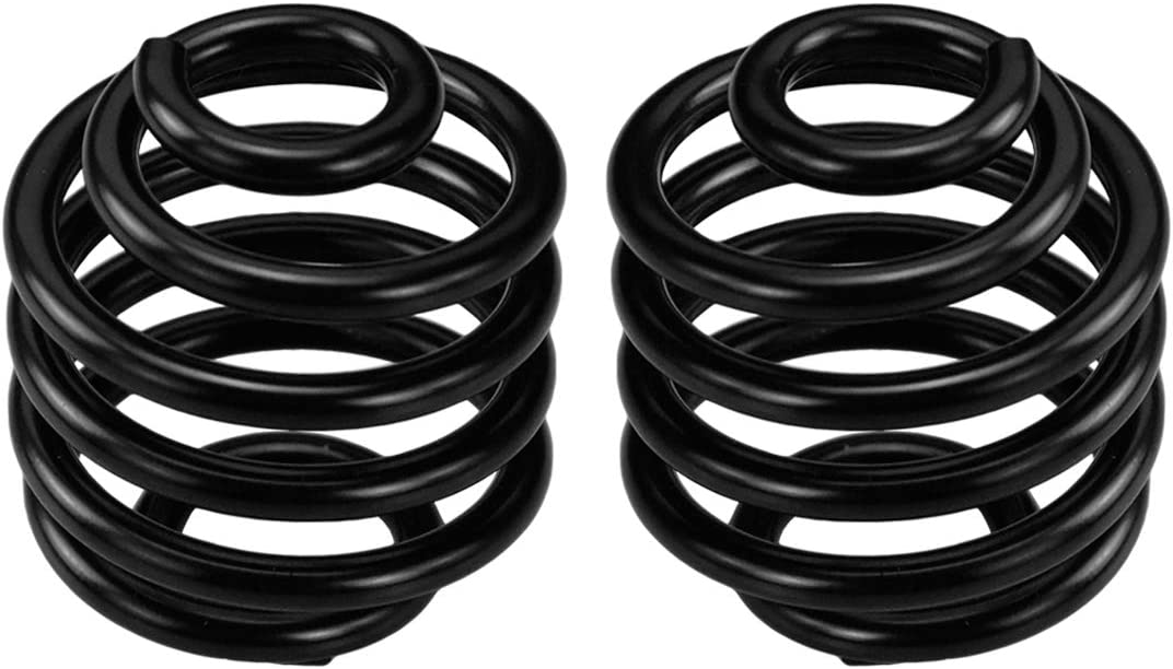 REBACKER Motorcycle Solo Seat Springs Mounting 2 Inch Spring Bracket Hardware Mount Kit Fits for Harley Sportster Softail XL 883 1200 Dyna Fatboy Bobber,Black,1 Pair