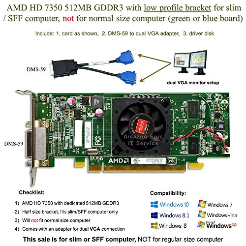 512 mb graphics card low profile - 7