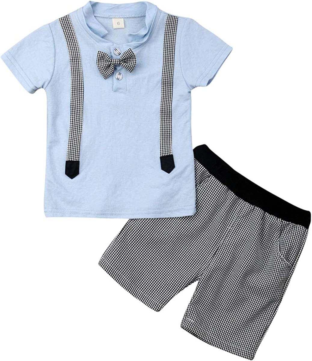 Boys Clothing Toddlers 2Pcs Set Summer New Fashion 100/% Cotton Star 1 2 3 yrs