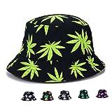 Bucket Hat - Marijuana Weed Fishing Hat - Unisex