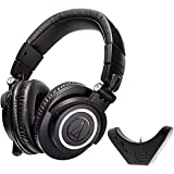 Audio Technica ATH M50x Studio Headphone with...