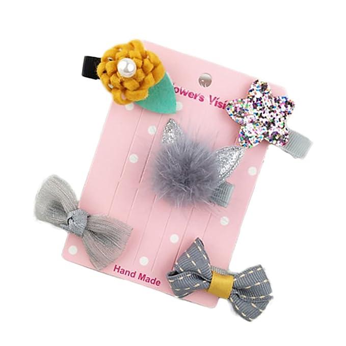 Nuohuilekeji Cute Baby Girl Toddler Chiffon Flower Headband Hair Accessory Headwear Photo Prop