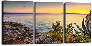 Wall Art For Living room beach sunset landscape Wall Decor for artwork Painting 16