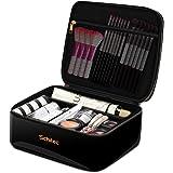 メイクボックス プロ用 化粧バッグ 化粧箱 大容量 普段使い 出張 旅行 トラベルポーチ 化粧ポッチ