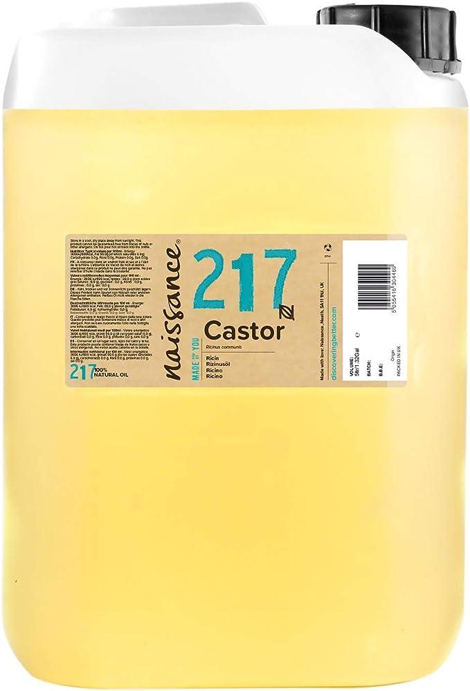 Naissance Aceite de Ricino 5 litros - Puro, natural, vegano, sin ...