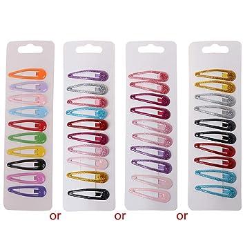 Amazon.com: Simdoc - Paquete de 10 horquillas de clip para ...