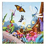 Cocktail Napkins - 150-Pack Luncheon Napkins, Disposable Paper Napkins Bugs Party Supplies for Kids Insect-Themed Birthdays, 2-Ply, Unfolded 13 x 13 inches, Folded 6.5 x 6.5 inches