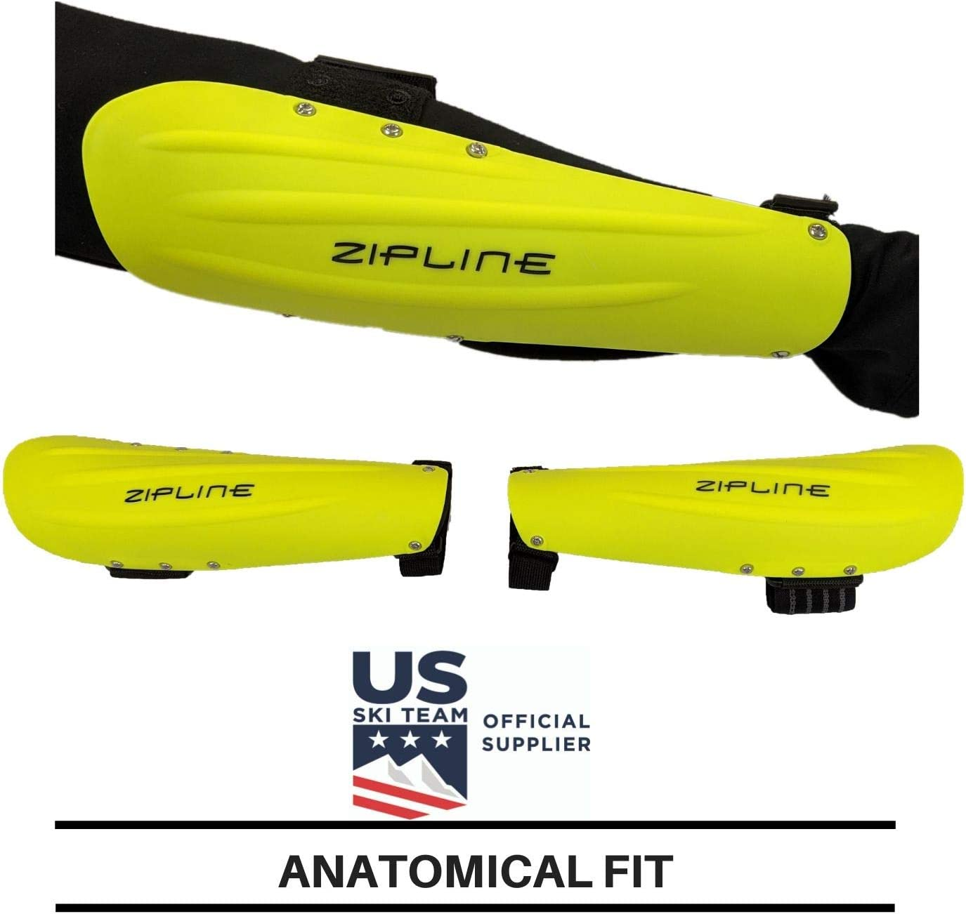 Zipline Ski Racing Forearm Guard Protector US Ski Team Official Supplier
