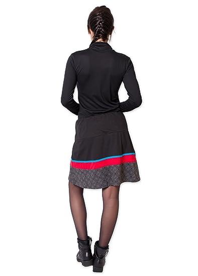 Coton du Monde - Falda - para Mujer Multicolor Medium: Amazon.es ...
