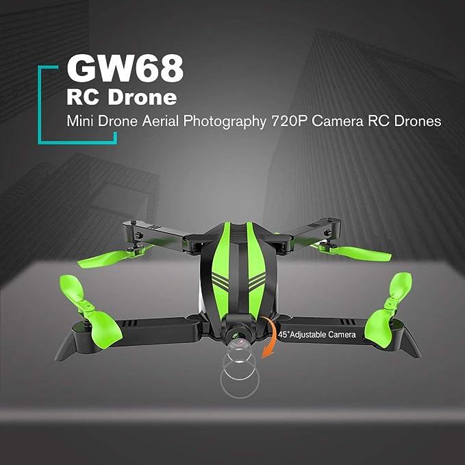 Zinniaya Global Drone GW68 RC Drone Mini Drone Altitude Hold ...