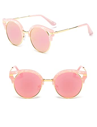 501f1d104480 Polarized UV Protection Fashionable Tide Sunglasses TAC Lenses for Women  (pink