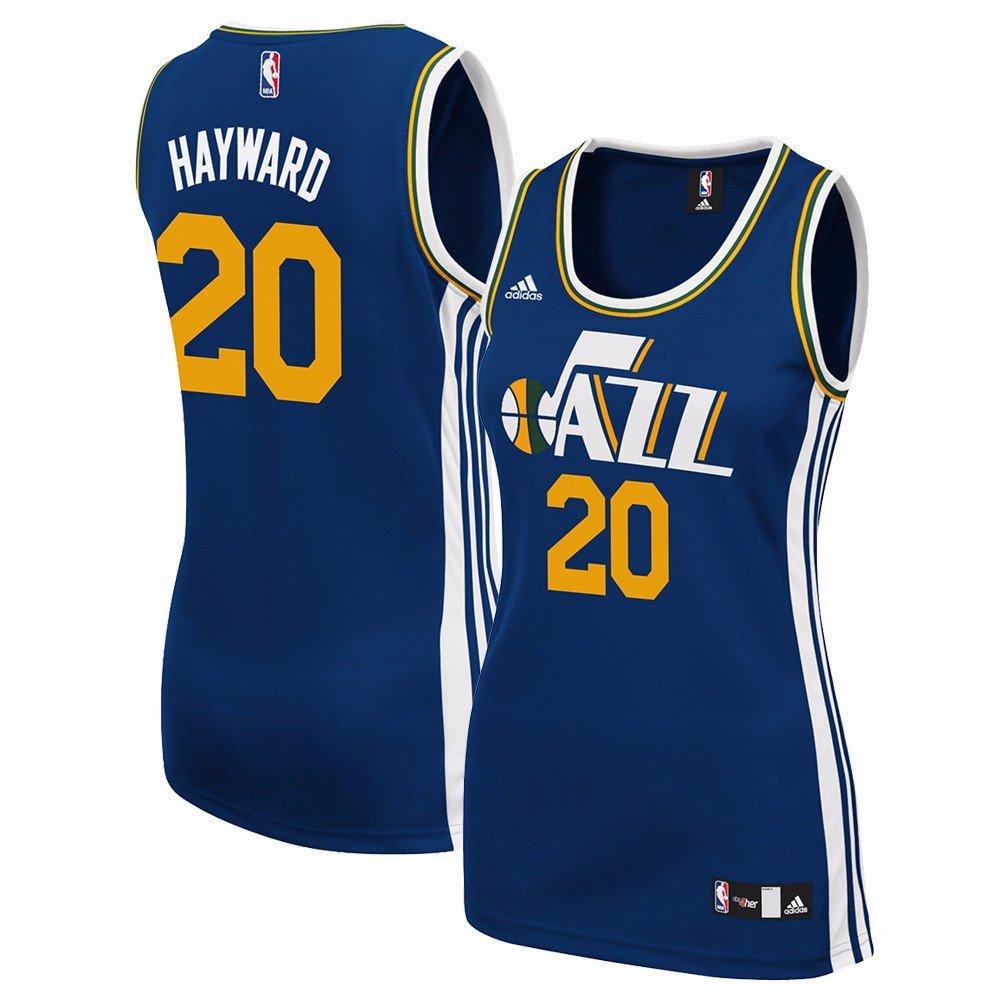 timeless design d1e10 76112 Amazon.com : adidas Gordon Hayward Utah Jazz NBA Women's ...