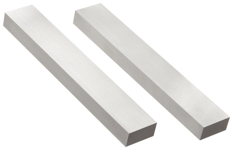 Starrett 384W acero paralelo, 1' de ancho, 6' de longitud, 1/2' de grosor 1 de ancho 6 de longitud 1/2 de grosor