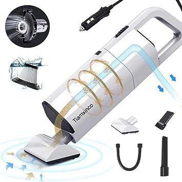 Amazon.com: Tiamxinco - Aspirador de mano para coche con ...
