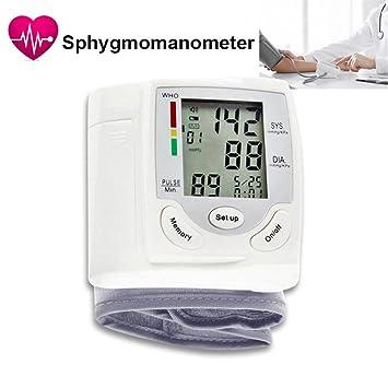 "Monitor presión arterial, Keng Plástico Detector de presión arterial portátil- 2.76""X2."