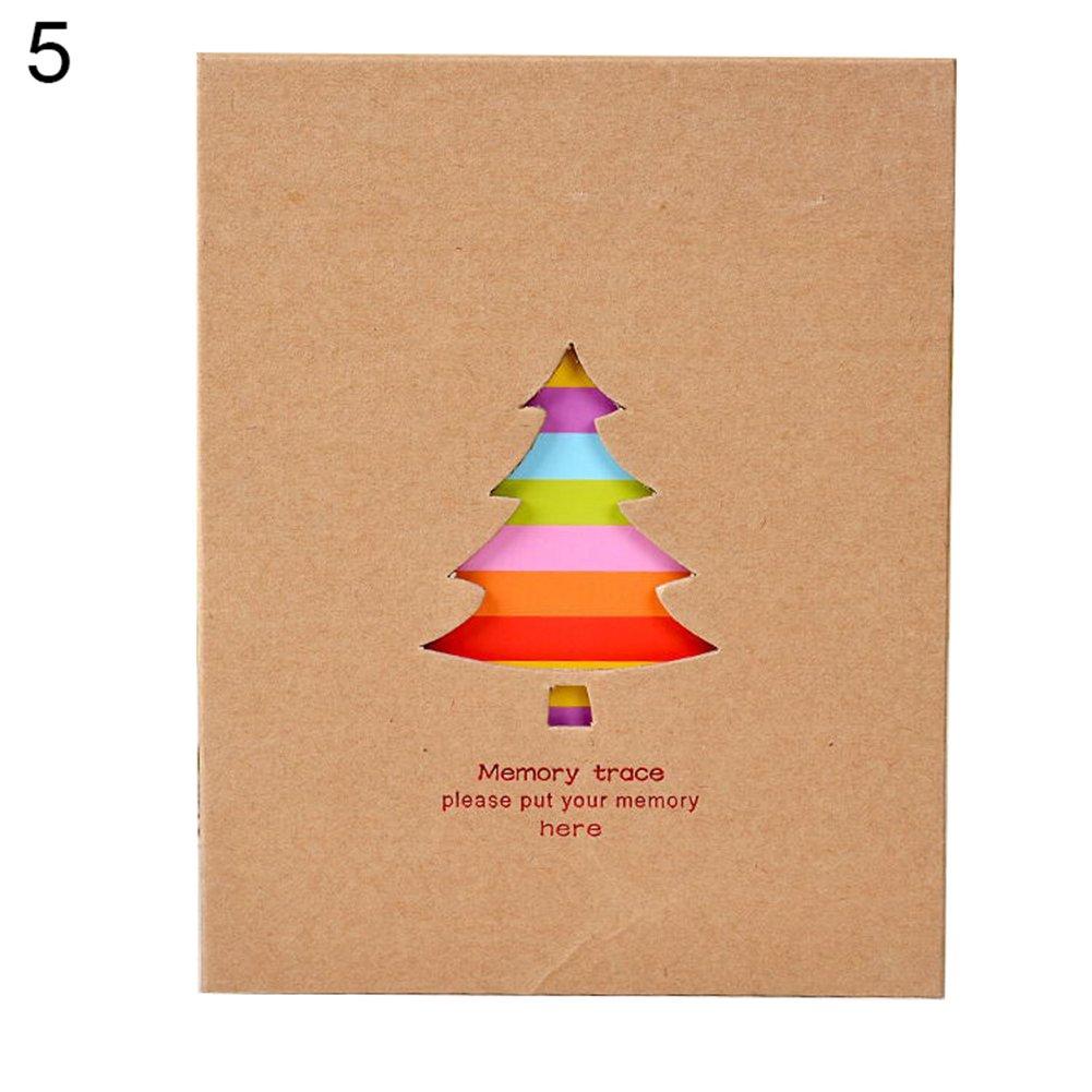 Lsgepavilion Album de Rangement pour Photos de b/éb/é Motif Animal color/é 100 Pages Couleur 1# Bear#