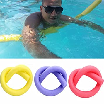 Swimming Pool Noodle,Solid Core Foam Swimming Sticks Swimming Training Equipment for Swim Training Aids,Sport Lessons Floats Aerobic Therapy Exercise,Kids Adults Swim