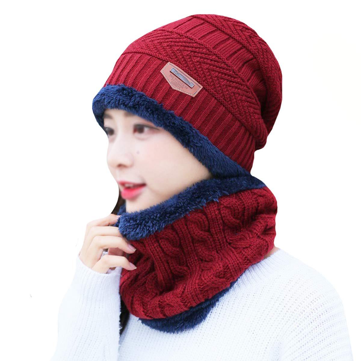 LA HAUTE - Ensemble bonnet, écharpe et gants - Femme meilleur cadeau ... 292629f25fa