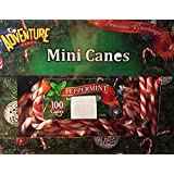 Christmas Holiday Mini Peppermint Candy Canes 100 Count Box