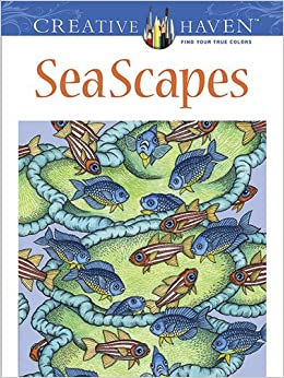 creative haven seascapes coloring book creative haven coloring books - Creative Haven Coloring Books
