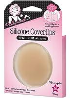 Hollywood Fashion Secrets Silicone CoverUps Medium, 1 pair