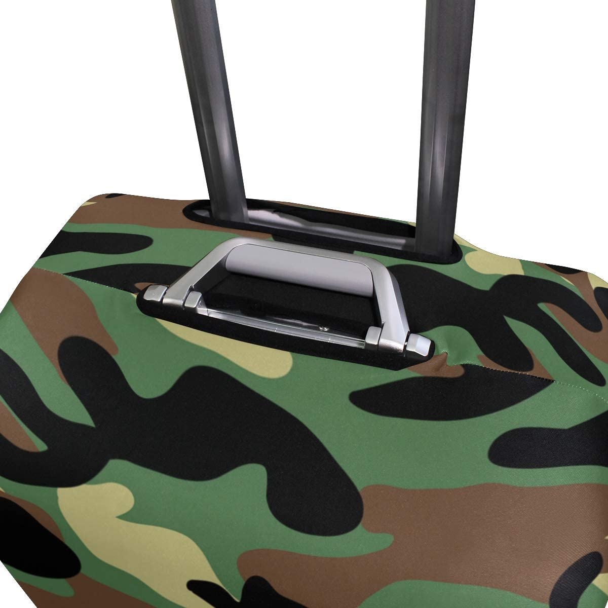 FOLPPLY Camouflage Pattern Luggage Cover Baggage Suitcase Travel Protector Fit for 18-32 Inch